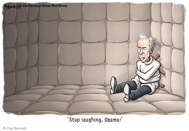 Cartoonist Clay Bennett  Clay Bennett's Editorial Cartoons 2012-09-03 Obama republicans