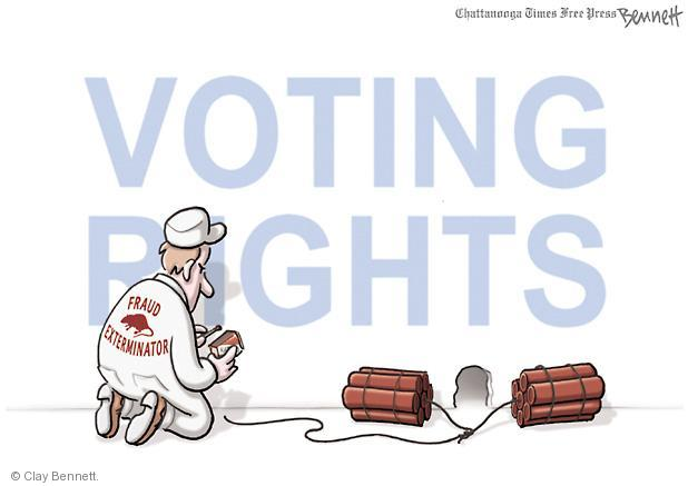 Clay Bennett  Clay Bennett's Editorial Cartoons 2012-09-24 voting rights