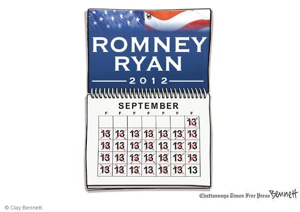 Clay Bennett  Clay Bennett's Editorial Cartoons 2012-10-01 presidential election