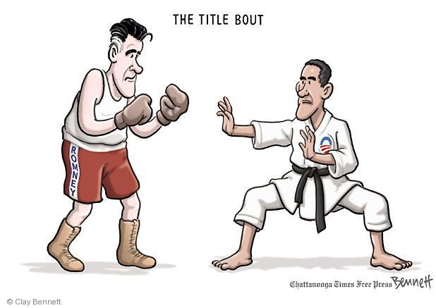 Cartoonist Clay Bennett  Clay Bennett's Editorial Cartoons 2012-10-03 Obama republicans