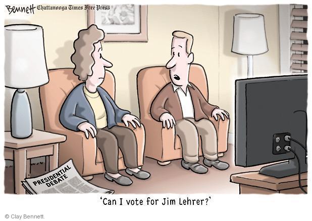Clay Bennett  Clay Bennett's Editorial Cartoons 2012-10-04 presidential election