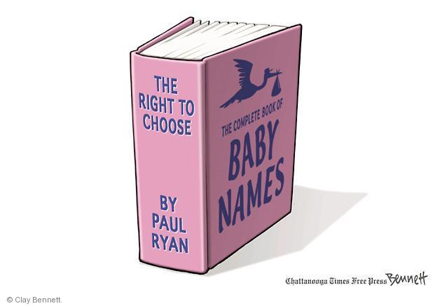 Cartoonist Clay Bennett  Clay Bennett's Editorial Cartoons 2012-10-15 pregnant