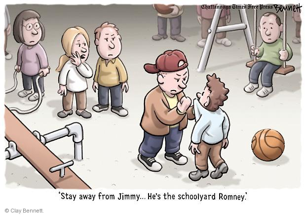 Cartoonist Clay Bennett  Clay Bennett's Editorial Cartoons 2012-10-18 2012 election