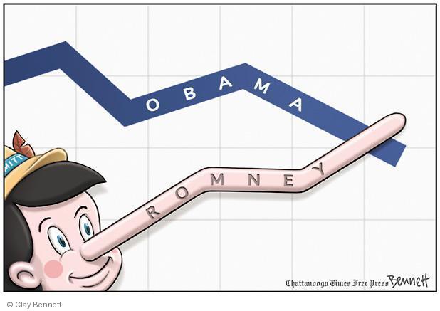 Cartoonist Clay Bennett  Clay Bennett's Editorial Cartoons 2012-10-19 2012 election