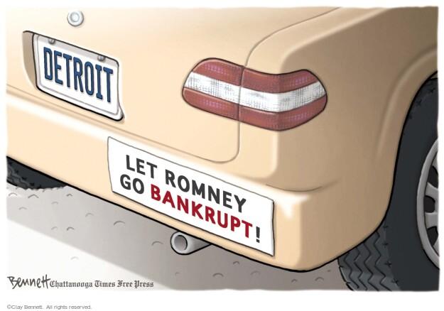 Clay Bennett  Clay Bennett's Editorial Cartoons 2012-10-24 2012 election