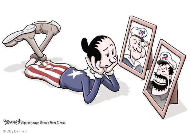 Cartoonist Clay Bennett  Clay Bennett's Editorial Cartoons 2012-10-29 2012 election