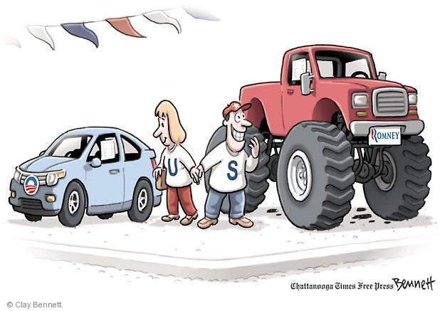 Clay Bennett  Clay Bennett's Editorial Cartoons 2012-11-02 vehicle