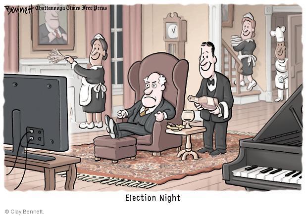 Cartoonist Clay Bennett  Clay Bennett's Editorial Cartoons 2012-11-07 2012 election