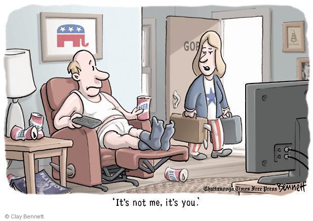 Cartoonist Clay Bennett  Clay Bennett's Editorial Cartoons 2012-11-12 2012 election