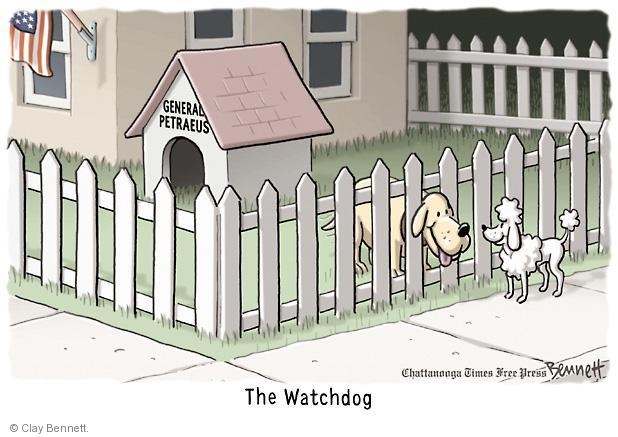 Cartoonist Clay Bennett  Clay Bennett's Editorial Cartoons 2012-11-14 CIA