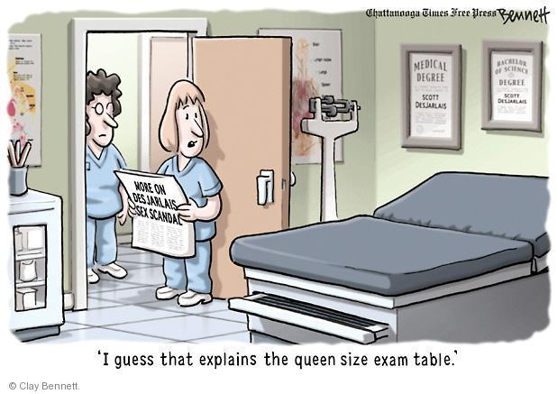 Cartoonist Clay Bennett  Clay Bennett's Editorial Cartoons 2012-11-18 political scandal