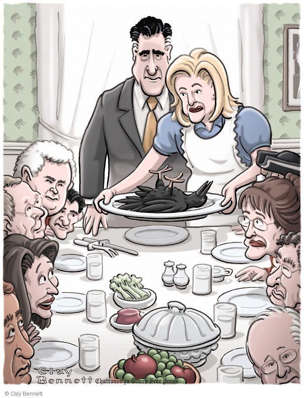 Clay Bennett  Clay Bennett's Editorial Cartoons 2012-11-21 presidential election