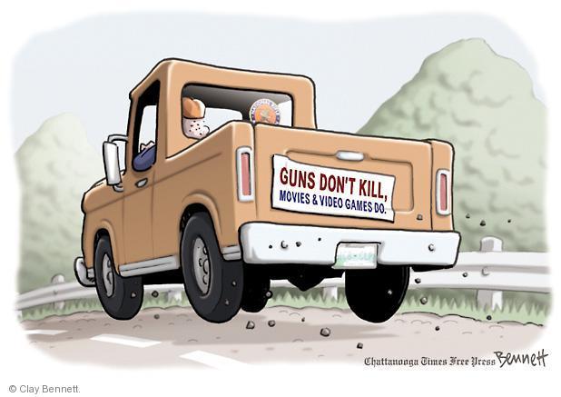Clay Bennett  Clay Bennett's Editorial Cartoons 2012-12-19 regulate