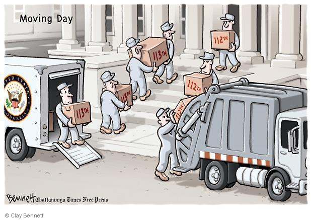Moving Day. 113th.  113th.  113th. 112th. 112th. 112th. United States Congress.