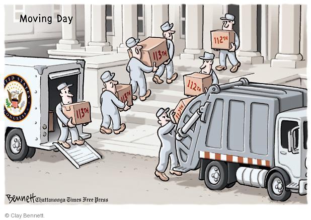 Cartoonist Clay Bennett  Clay Bennett's Editorial Cartoons 2013-01-04 building