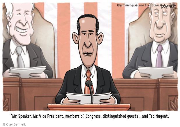 Clay Bennett  Clay Bennett's Editorial Cartoons 2013-02-13 Joe Biden