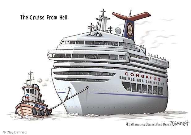 The Cruise From Hell. Obama. Congress.