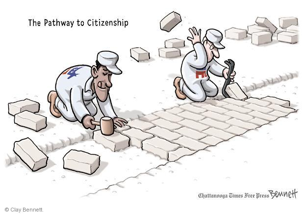 The Pathway to Citizenship.