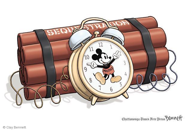 Clay Bennett  Clay Bennett's Editorial Cartoons 2013-02-28 cutting
