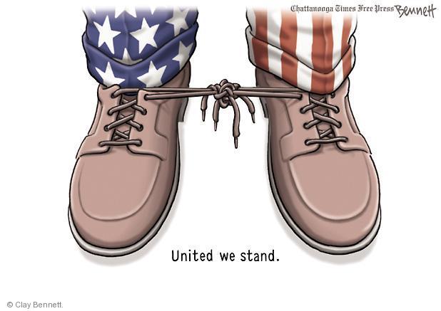 Cartoonist Clay Bennett  Clay Bennett's Editorial Cartoons 2013-03-04 shoe