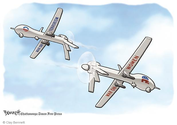 Clay Bennett  Clay Bennett's Editorial Cartoons 2013-03-08 drone