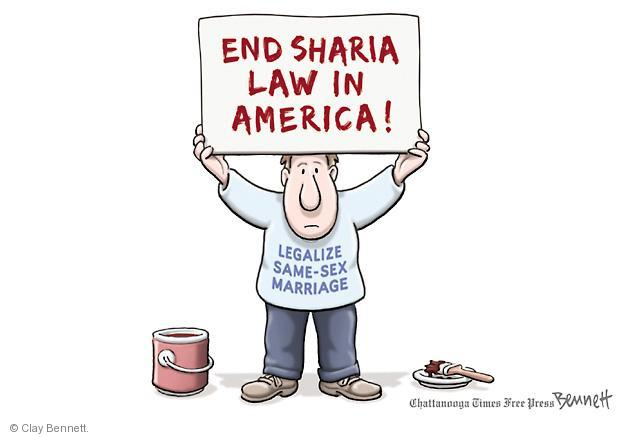 Cartoonist Clay Bennett  Clay Bennett's Editorial Cartoons 2013-03-18 separation