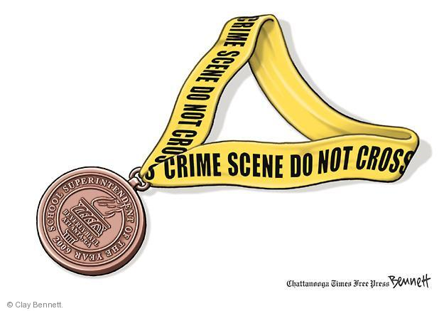 Cartoonist Clay Bennett  Clay Bennett's Editorial Cartoons 2013-04-04 charge