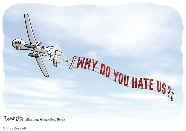 Clay Bennett  Clay Bennett's Editorial Cartoons 2013-04-25 aircraft