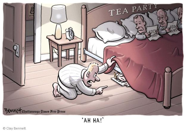 AH HA! Tea Party. IRS.
