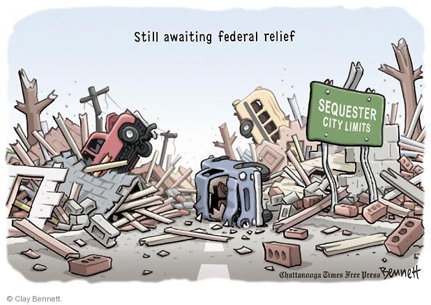 Cartoonist Clay Bennett  Clay Bennett's Editorial Cartoons 2013-05-22 city