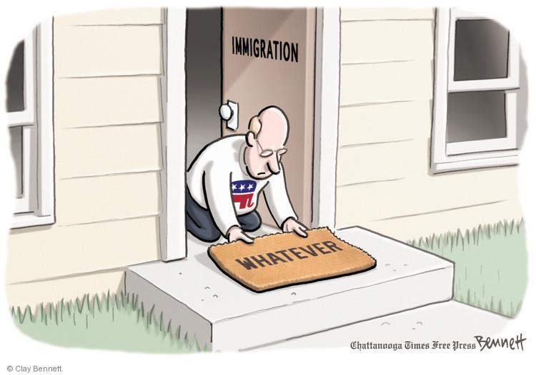 Immigration. Whatever.