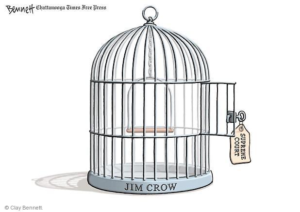 Clay Bennett  Clay Bennett's Editorial Cartoons 2013-06-26 voting rights