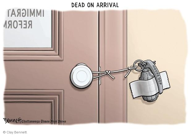 Clay Bennett  Clay Bennett's Editorial Cartoons 2013-07-02 immigration bill