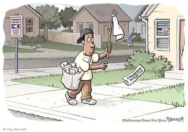 Cartoonist Clay Bennett  Clay Bennett's Editorial Cartoons 2013-07-16 charge