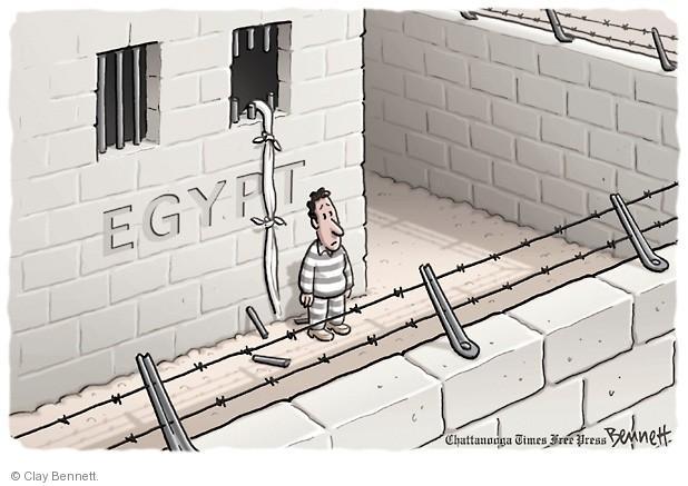 Clay Bennett  Clay Bennett's Editorial Cartoons 2013-08-16 Egyptian revolution