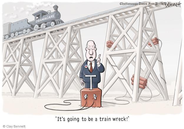 Clay Bennett  Clay Bennett's Editorial Cartoons 2013-08-21 train