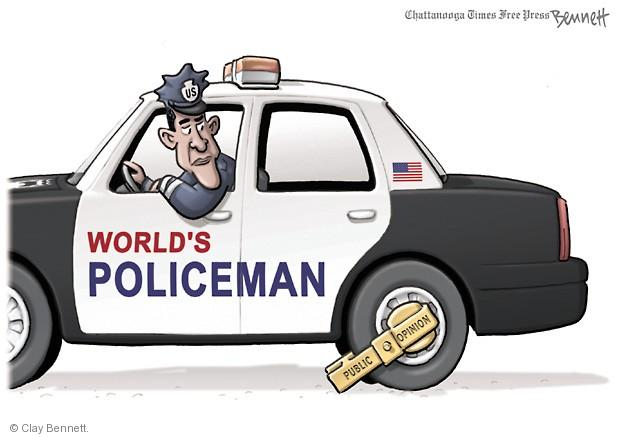 Cartoonist Clay Bennett  Clay Bennett's Editorial Cartoons 2013-09-09 opinion