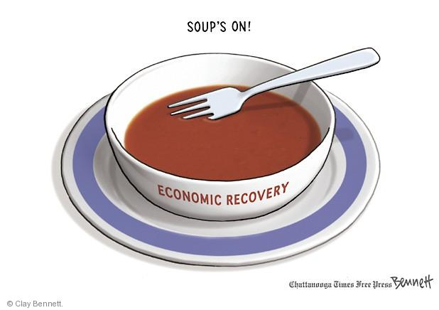 Soups On. Economic recovery.