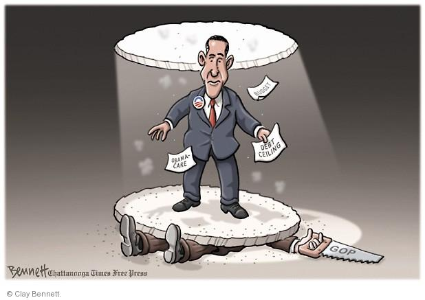 Clay Bennett  Clay Bennett's Editorial Cartoons 2013-09-20 budget deficit