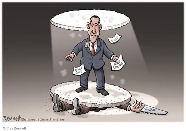 Cartoonist Clay Bennett  Clay Bennett's Editorial Cartoons 2013-09-20 congress health care