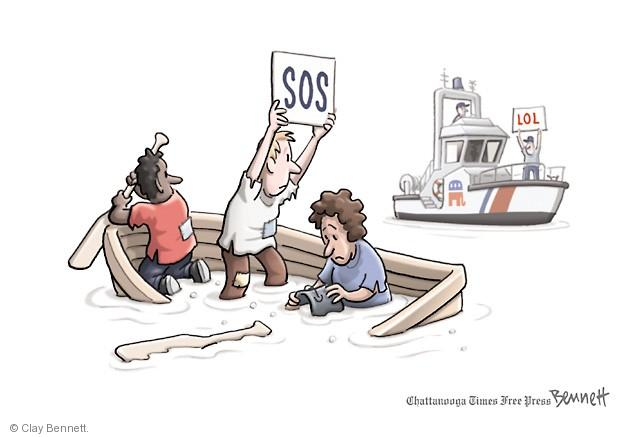Clay Bennett  Clay Bennett's Editorial Cartoons 2013-09-23 poor