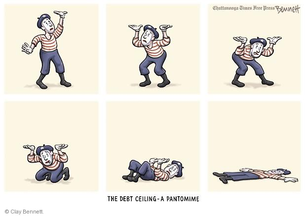 Clay Bennett  Clay Bennett's Editorial Cartoons 2013-10-16 budget deficit