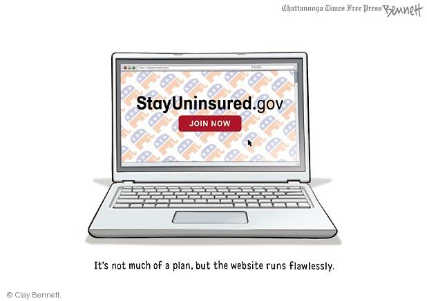 Cartoonist Clay Bennett  Clay Bennett's Editorial Cartoons 2013-10-28 tech