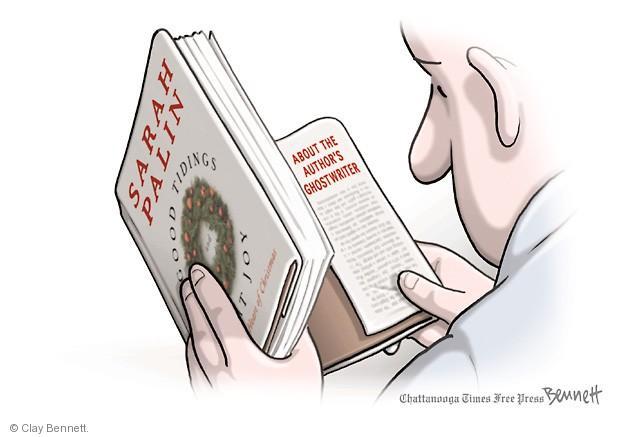 Cartoonist Clay Bennett  Clay Bennett's Editorial Cartoons 2013-11-13 book
