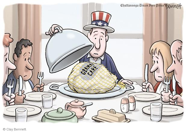 Clay Bennett  Clay Bennett's Editorial Cartoons 2013-11-21 Obamacare