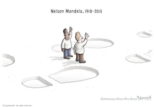 Nelson Mandela, 1918-2013.