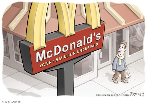 Clay Bennett  Clay Bennett's Editorial Cartoons 2013-12-09 labor