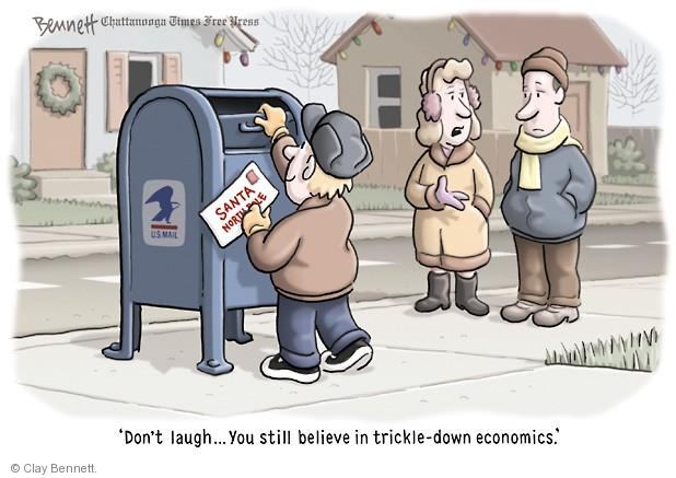 Clay Bennett  Clay Bennett's Editorial Cartoons 2013-12-12 economy