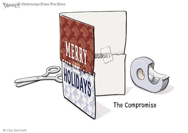 Clay Bennett  Clay Bennett's Editorial Cartoons 2013-12-16 budget