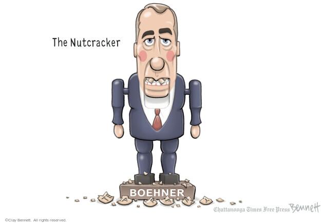 Cartoonist Clay Bennett  Clay Bennett's Editorial Cartoons 2013-12-17 negotiation